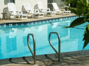 Huntington Suites Pool Deck